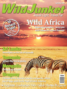 The April May issue of WildJunket Magazine